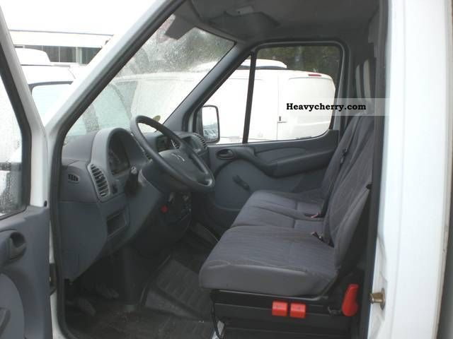 Mercedes Benz Sprinter 413 Cdi Maxi Case Liftgate Air
