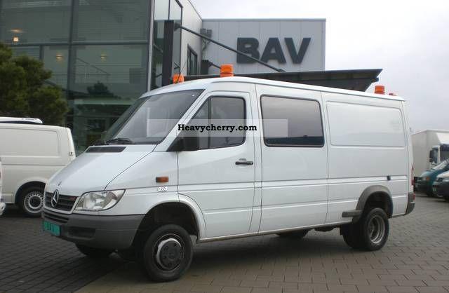 mercedes benz sprinter 316 cdi 4x4 6 seater 3 5 ahk. Black Bedroom Furniture Sets. Home Design Ideas