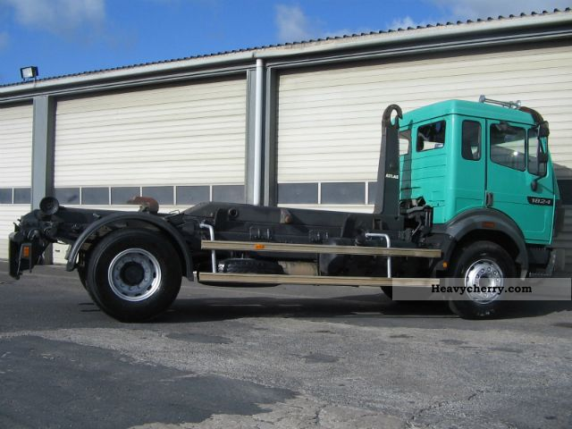Mercedes Benz 1824 1994 Roll Off Tipper Truck Photo And Specs