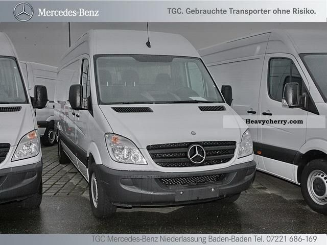 mercedes benz sprinter 319 cdi long maxi high air 2011 box. Black Bedroom Furniture Sets. Home Design Ideas