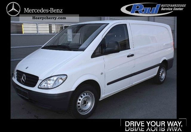 2007 Mercedes-Benz  Vito 115 CDI climate Van or truck up to 7.5t Box-type delivery van photo