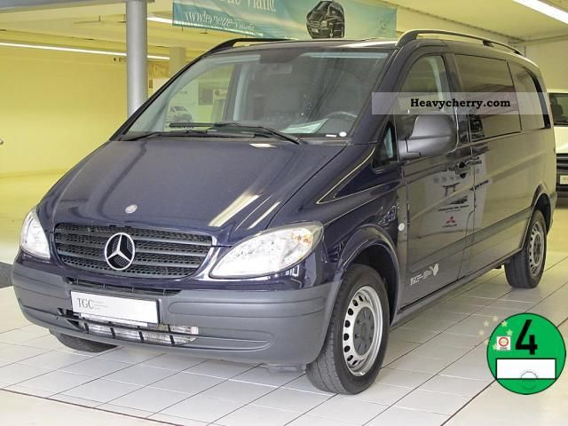 mercedes benz vito 115 cdi 2008 estate minibus up to 9 seats truck photo and specs. Black Bedroom Furniture Sets. Home Design Ideas