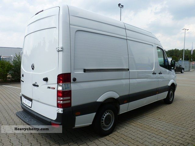 mercedes benz heckt sprinter 216 cdi 5270 n 46tkm. Black Bedroom Furniture Sets. Home Design Ideas