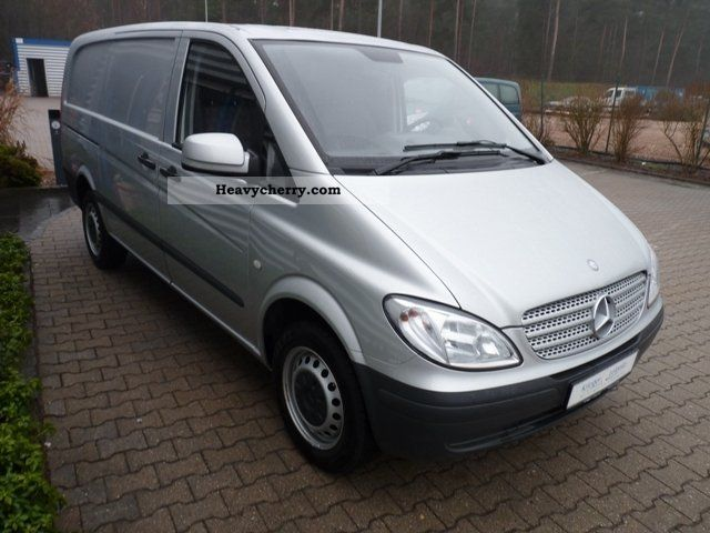 mercedes benz vito 115 cdi long 1hd good condition 2009 box type delivery van photo and specs. Black Bedroom Furniture Sets. Home Design Ideas
