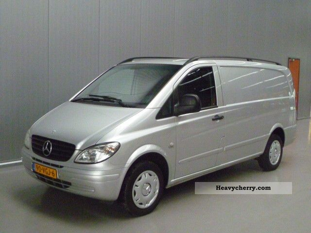 mercedes benz vito 109 cdi 2007 box type delivery van long photo and specs. Black Bedroom Furniture Sets. Home Design Ideas