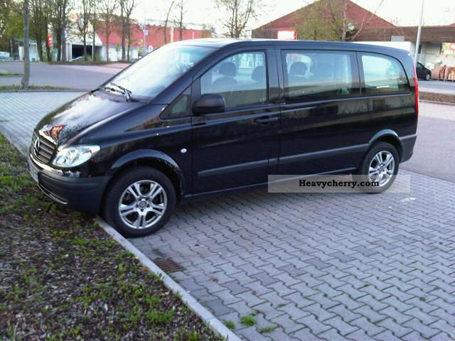 mercedes benz vito 115 cdi combi compact 2010 box type. Black Bedroom Furniture Sets. Home Design Ideas