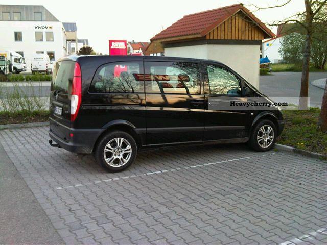mercedes benz vito 115 cdi combi compact 2010 box type delivery van photo and specs. Black Bedroom Furniture Sets. Home Design Ideas