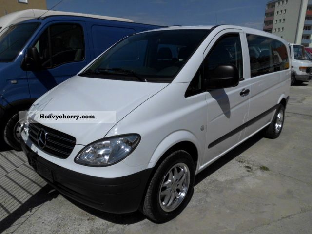 mercedes benz vito 111 cdi 2006 estate minibus up to 9 seats truck photo and specs. Black Bedroom Furniture Sets. Home Design Ideas
