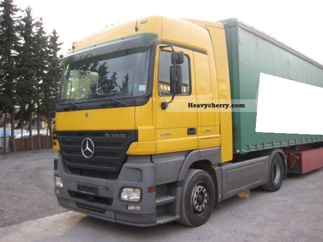 Tractor Trailer Clutches : Mercedes benz actros megaspace air retarder