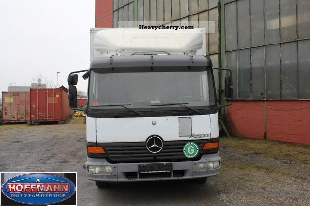 Mercedes benz 1017l suitcase lbw 2001 box truck photo and for Mercedes benz suitcase