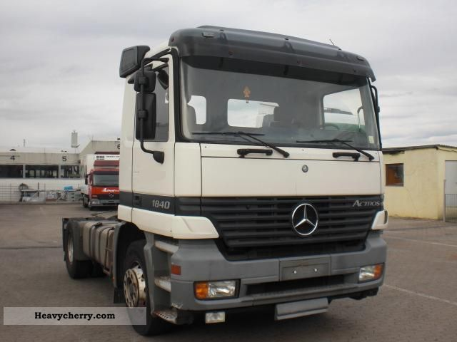 Mercedes benz actros 1840 like 1843 retader spring air for Mercedes benz semi trucks