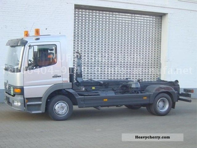2003 Mercedes-Benz  ATEGO 1023 Van or truck up to 7.5t Roll-off tipper photo