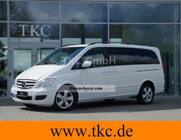 2011 Mercedes-Benz  Viano 3.0 CDI Long FUN -03/2011-XENON- Audio 50 Van or truck up to 7.5t Estate - minibus up to 9 seats photo