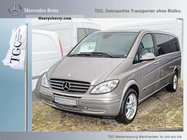 2008 Mercedes-Benz  Viano CDI 3.0 Trend Long Van or truck up to 7.5t Estate - minibus up to 9 seats photo