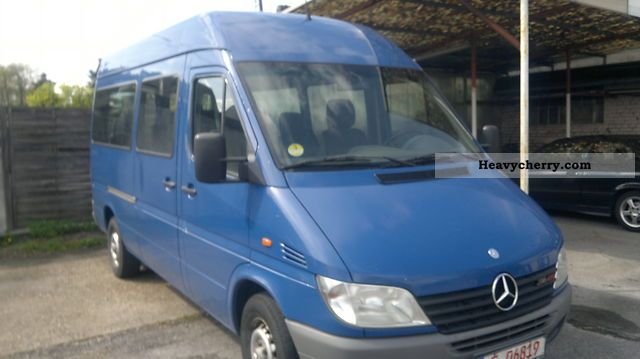 2001 Mercedes-Benz  316 Cdi air, cruise control, heater Van or truck up to 7.5t Estate - minibus up to 9 seats photo