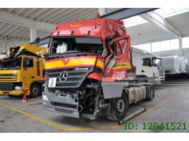 Mercedes Benz Actros 1841 Ls 2007 Standard Tractor Trailer Unit