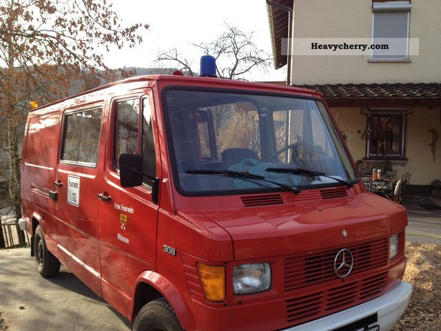 1980 Mercedes-Benz  308 Van or truck up to 7.5t Estate - minibus up to 9 seats photo