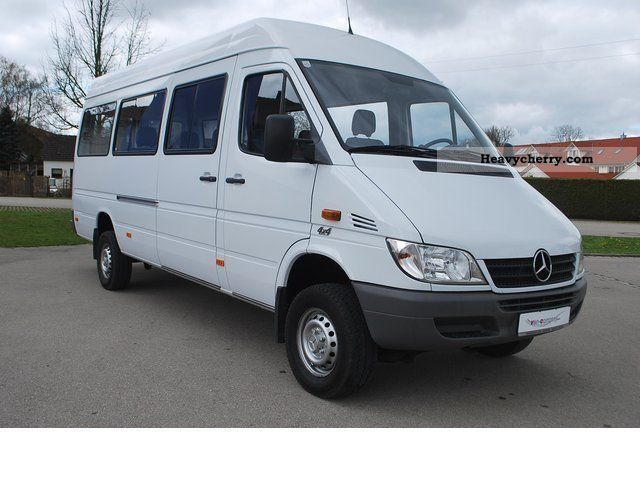 Mercedes benz sprinter 313 cdi 4x4 lr maxi 1 hd air 2003 for Mercedes benz sprinter 313