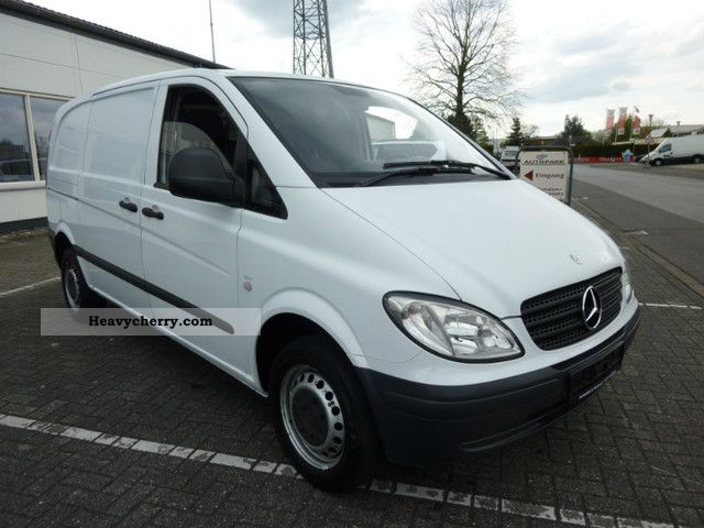 mercedes benz vito 109 cdi panel van amigo 2007 box type delivery van photo and specs. Black Bedroom Furniture Sets. Home Design Ideas