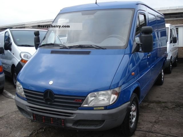 mercedes benz long sprinter 213 cdi automatic net 5874 2002 box type delivery van long. Black Bedroom Furniture Sets. Home Design Ideas