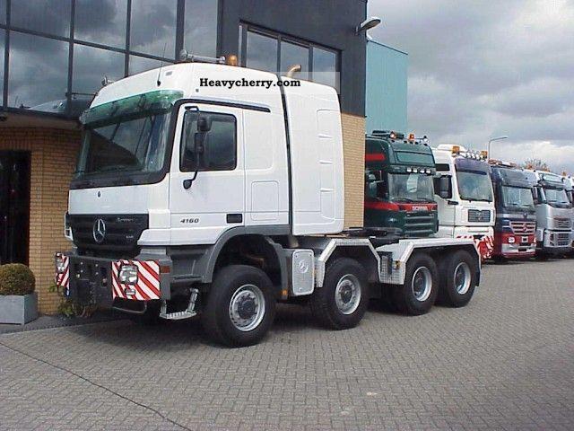 Mercedes Benz 4160 Slt 8x6 Tractor 2006 Heavy Load Semi