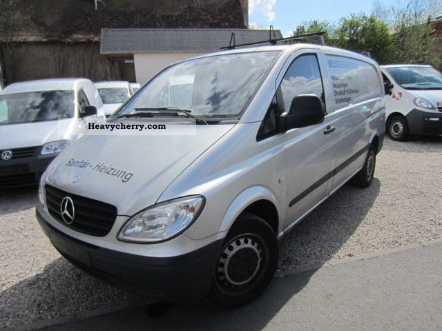 mercedes benz vito 109 cdi 9 500 net long 2008 box type delivery van long photo and specs. Black Bedroom Furniture Sets. Home Design Ideas