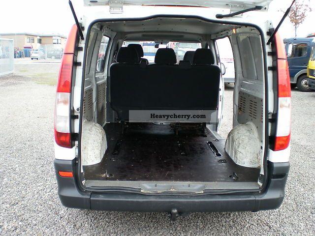 mercedes benz db vito long 111 5 seater trailer hitch. Black Bedroom Furniture Sets. Home Design Ideas