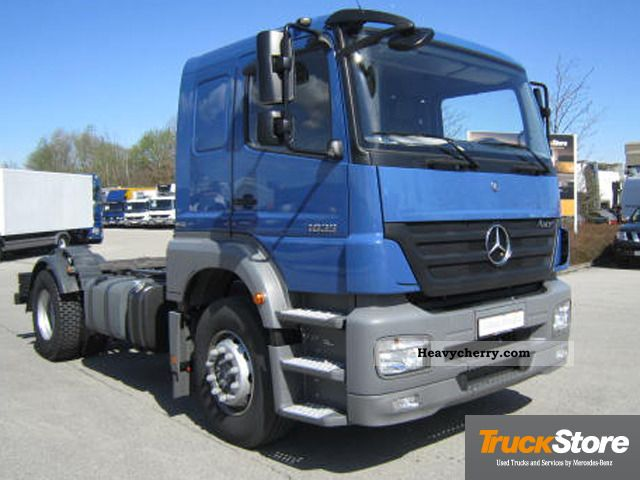 Mercedes benz axor 1833 l euro5 2012 chassis truck photo for 2012 mercedes benz truck