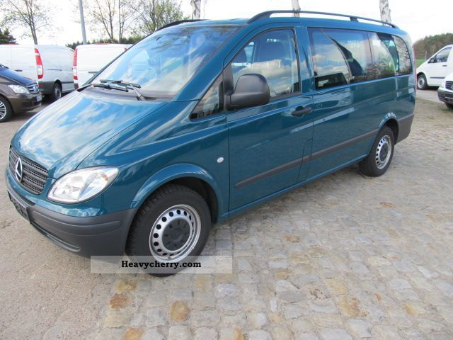 mercedes benz vito 111 cdi 2009 other vans trucks up to 7. Black Bedroom Furniture Sets. Home Design Ideas