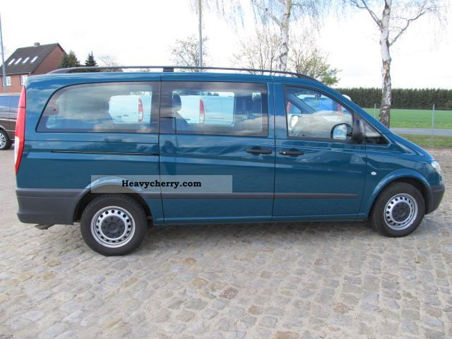 mercedes benz vito 111 cdi 2009 other vans trucks up to 7 photo and specs. Black Bedroom Furniture Sets. Home Design Ideas