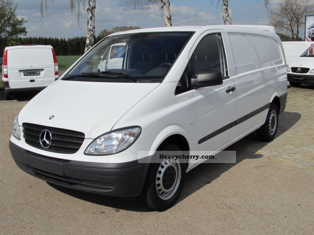 mercedes benz vito 111 cdi 2010 other vans trucks up to 7 photo and specs. Black Bedroom Furniture Sets. Home Design Ideas