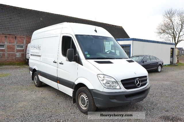 mercedes benz sprinter 211 cdi climate 2008 box type. Black Bedroom Furniture Sets. Home Design Ideas