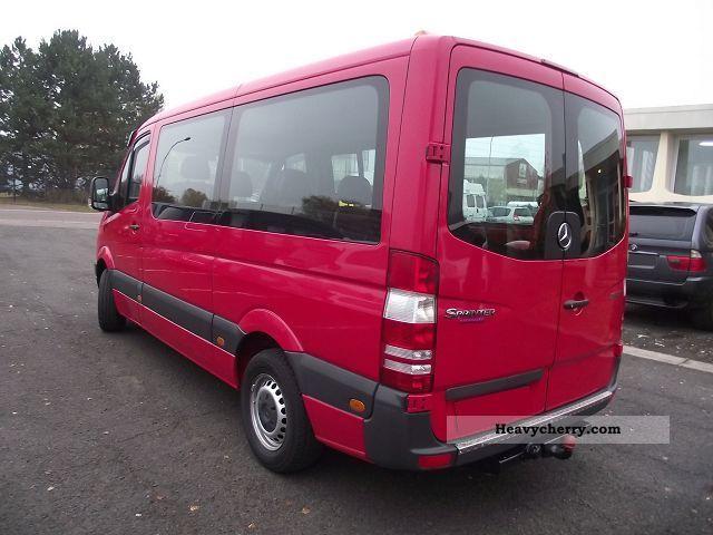 mercedes benz sprinter 215 cdi combi 9 places 2007 estate minibus up to 9 seats truck photo. Black Bedroom Furniture Sets. Home Design Ideas
