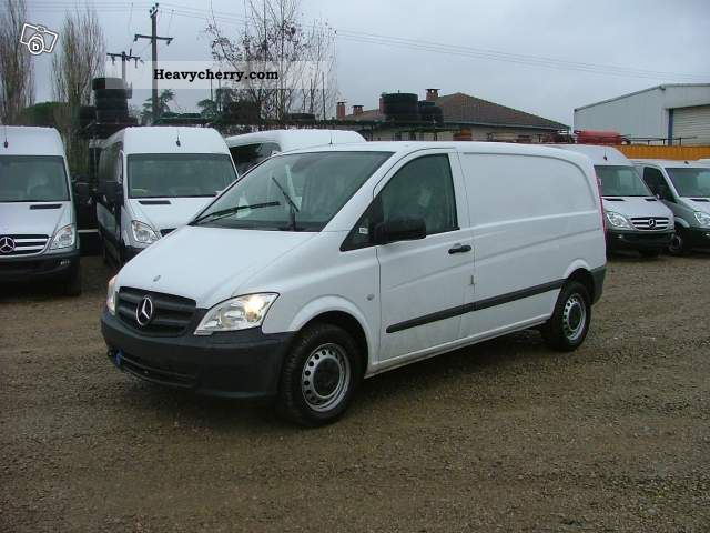 mercedes benz vito 122 cdi long 224cv bva a2 tole 2012 box type delivery van photo and specs. Black Bedroom Furniture Sets. Home Design Ideas