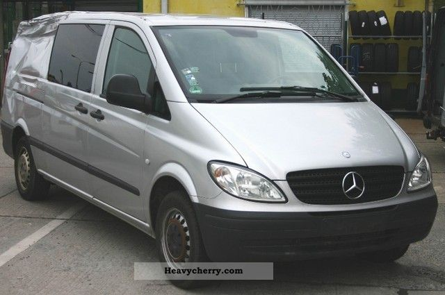 mercedes benz vito 115 cdi extra long mixto 2009 box type delivery van long photo and specs. Black Bedroom Furniture Sets. Home Design Ideas