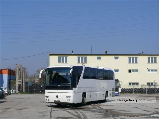 Mercedes benz o350 tourismo rhd 2006 coaches photo and specs for Mercedes benz tourismo coach