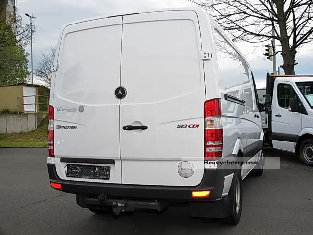 mercedes benz sprinter 513 cdi ahk 2010 box type delivery van long photo and specs. Black Bedroom Furniture Sets. Home Design Ideas