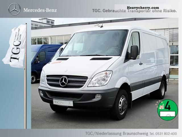 mercedes benz sprinter 513 cdi ahk 2010 box type delivery van photo and specs. Black Bedroom Furniture Sets. Home Design Ideas