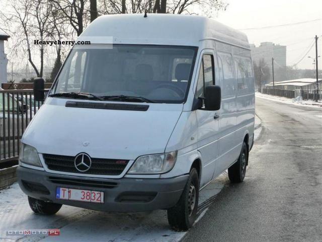 Mercedes benz sprinter 313 cdi 2003 other vans trucks up for Mercedes benz sprinter specs