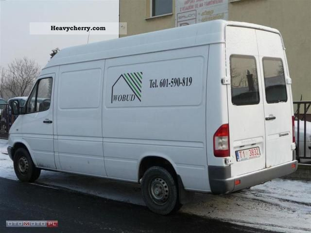 mercedes benz sprinter 313 cdi 2003 other vans trucks up to 7 photo and specs. Black Bedroom Furniture Sets. Home Design Ideas