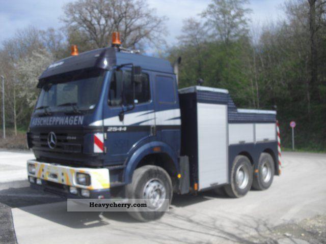 mercedes benz sk 2544 6x4 tow truck 1997 breakdown truck. Black Bedroom Furniture Sets. Home Design Ideas