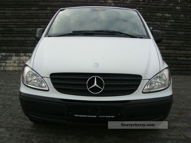 mercedes benz vito 109 cdi compact dpf checkbook 2007 box type delivery van photo and specs. Black Bedroom Furniture Sets. Home Design Ideas