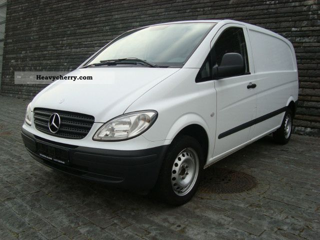 mercedes benz vito 109 cdi compact 3 seater checkbook 2007 box type delivery van photo and specs. Black Bedroom Furniture Sets. Home Design Ideas