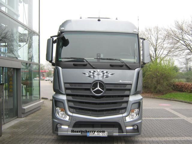 Mercedes benz actros 1842 lsnrl low liner 2011 other for Mercedes benz semi trucks