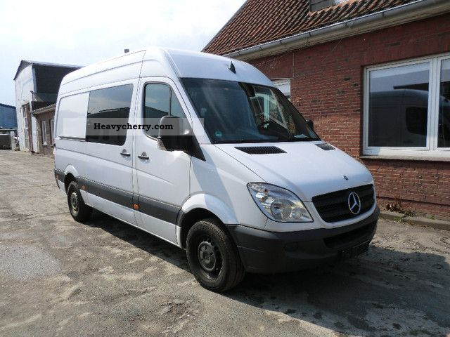 2007 Mercedes-Benz  313 CDI Van or truck up to 7.5t Box-type delivery van - high and long photo