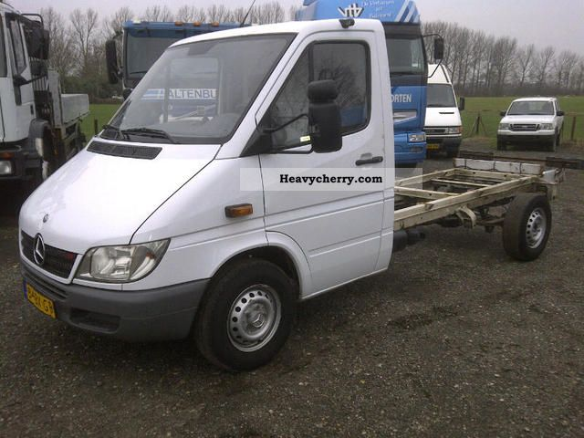 Mercedes Benz Sprinter 313 Cdi 2 X Stock Net 6 750 2005