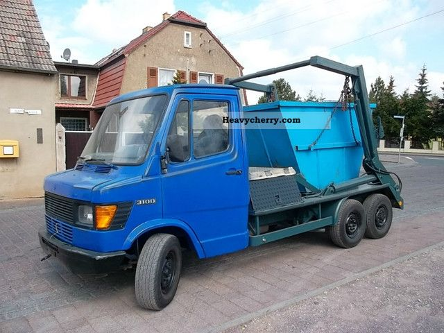 1992 Mercedes-Benz  410/310 WITH A TELESCOPE Van or truck up to 7.5t Dumper truck photo