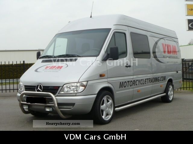 mercedes benz sprinter 316 cdi maxi aut 7 2 300 full 2003 other vans trucks up to 7 photo and specs. Black Bedroom Furniture Sets. Home Design Ideas