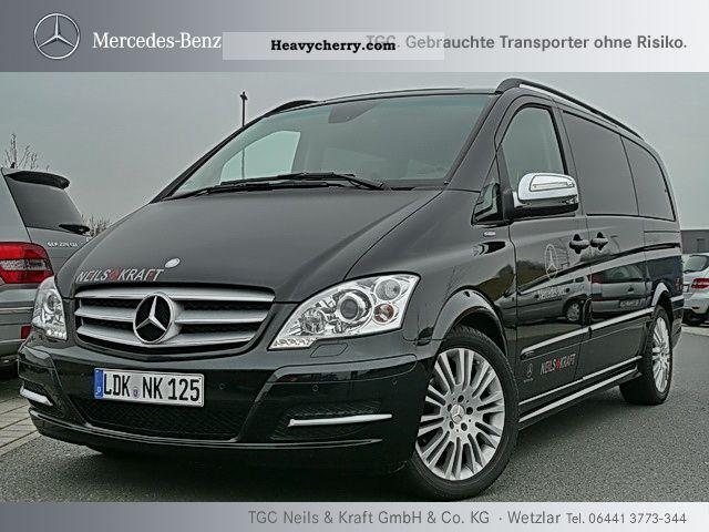 Mercedes Benz Viano 3 0 Cdi Avantgarde Edition 125 Navi