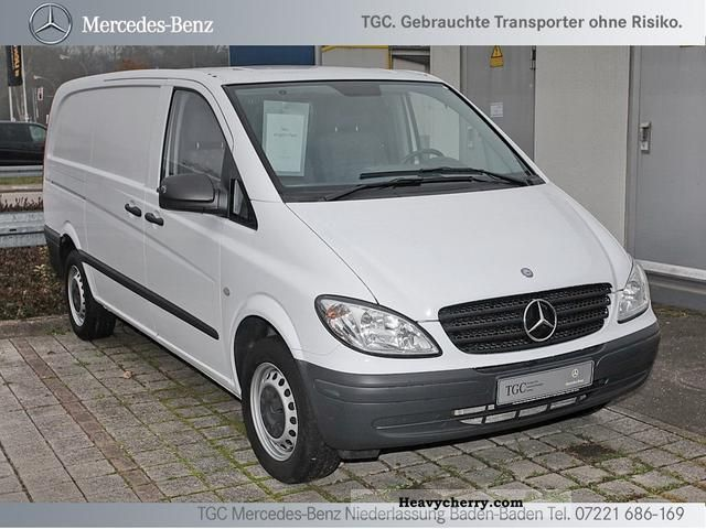 mercedes benz vito 115 cdi long 2010 box type delivery van photo and specs. Black Bedroom Furniture Sets. Home Design Ideas